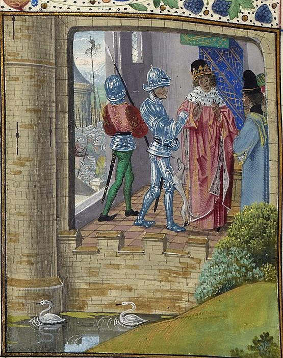 D323L Арест Ричарда II Английского. Хроники Фруассара