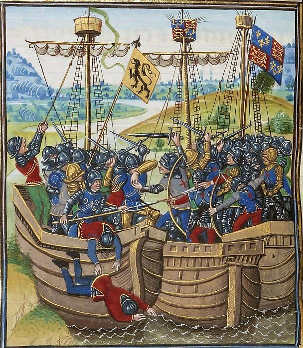 A388L Битва при Бурнёфе в 1371 году. Хроники Фруассара