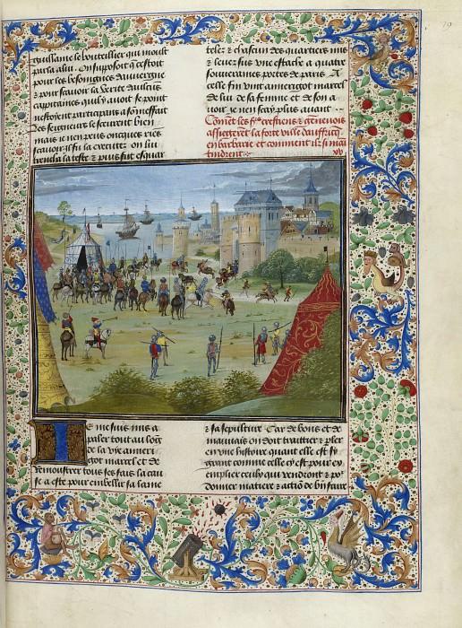D079R Осада Махдии в 1390 году. Хроники Фруассара