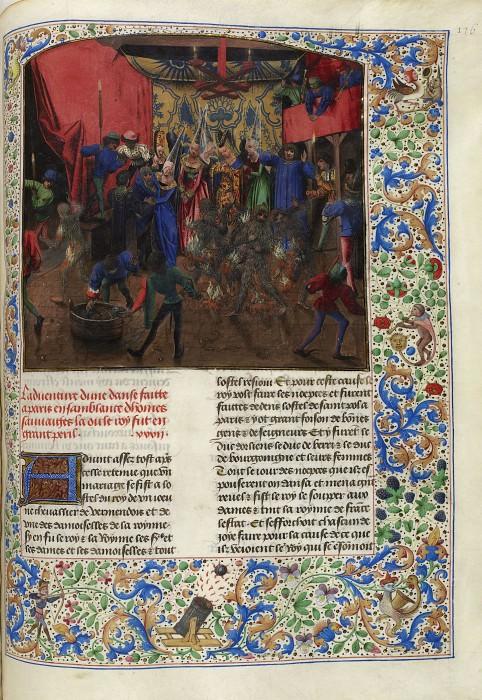 D176R Бал объятых пламенем 28 января 1393 года. Хроники Фруассара