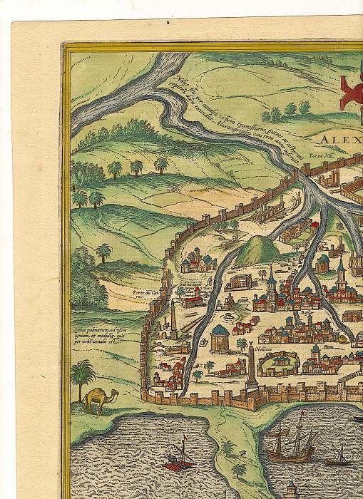 Георг Браун и Франц Хогенберг - Александрия, 1575. Древние карты мира в высоком разрешении - Старинные карты