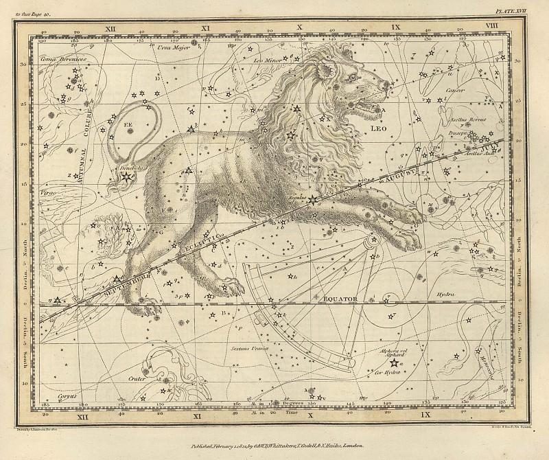 Leo. Antique world maps HQ
