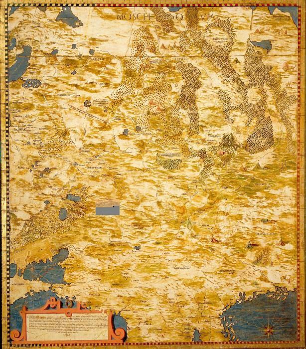 Россия. Древние карты мира в высоком разрешении - Старинные карты