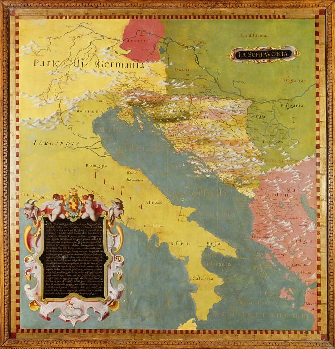 Slovenia. Antique world maps HQ