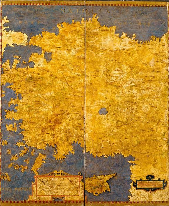 Турция. Древние карты мира в высоком разрешении - Старинные карты