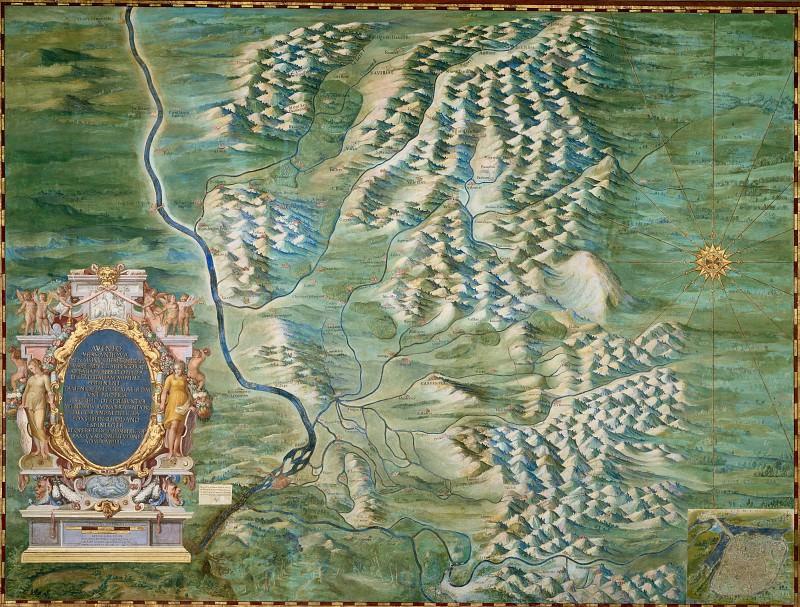 Авиньон и Конта-Венессен. Древние карты мира в высоком разрешении - Старинные карты