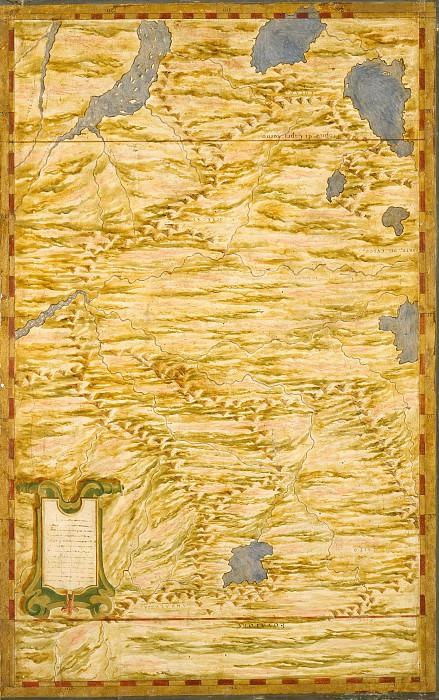 Часть Перу и Эквадора. Древние карты мира в высоком разрешении - Старинные карты