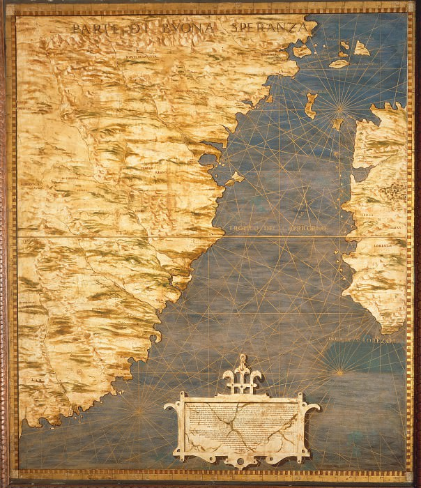 Map of Cape of Good Hope. Antique world maps HQ