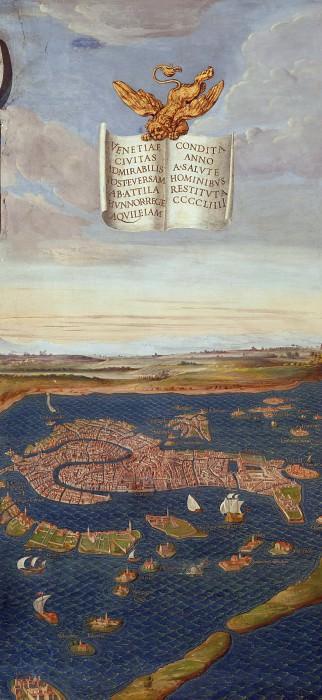 Вид Венеции. Древние карты мира в высоком разрешении - Старинные карты