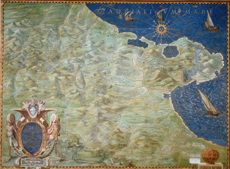 Апулия. Древние карты мира в высоком разрешении - Старинные карты