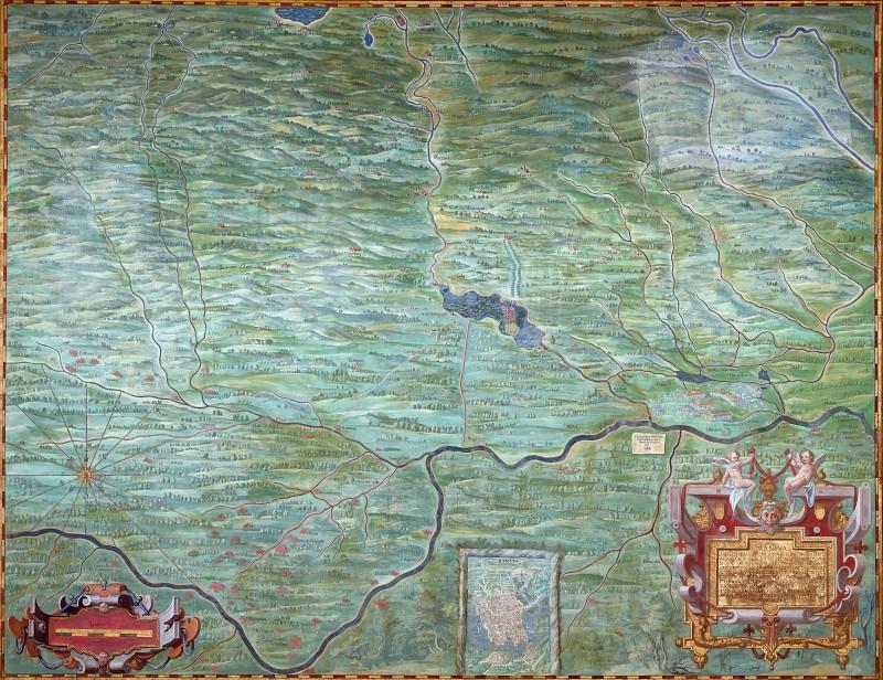 Duchy of Mantua. Antique world maps HQ