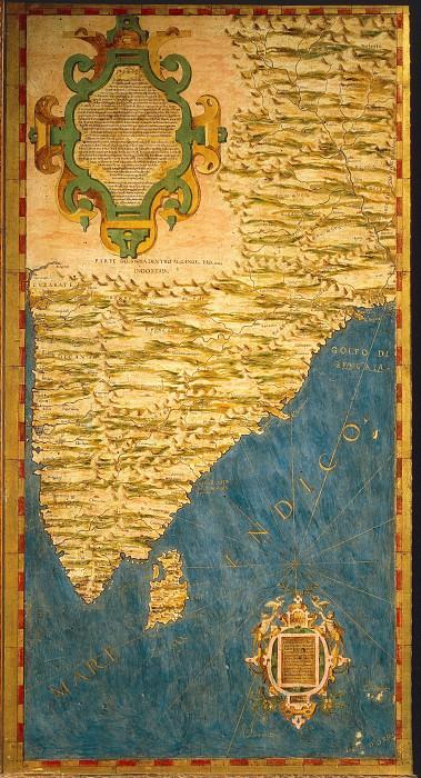 Индостан. Древние карты мира в высоком разрешении - Старинные карты