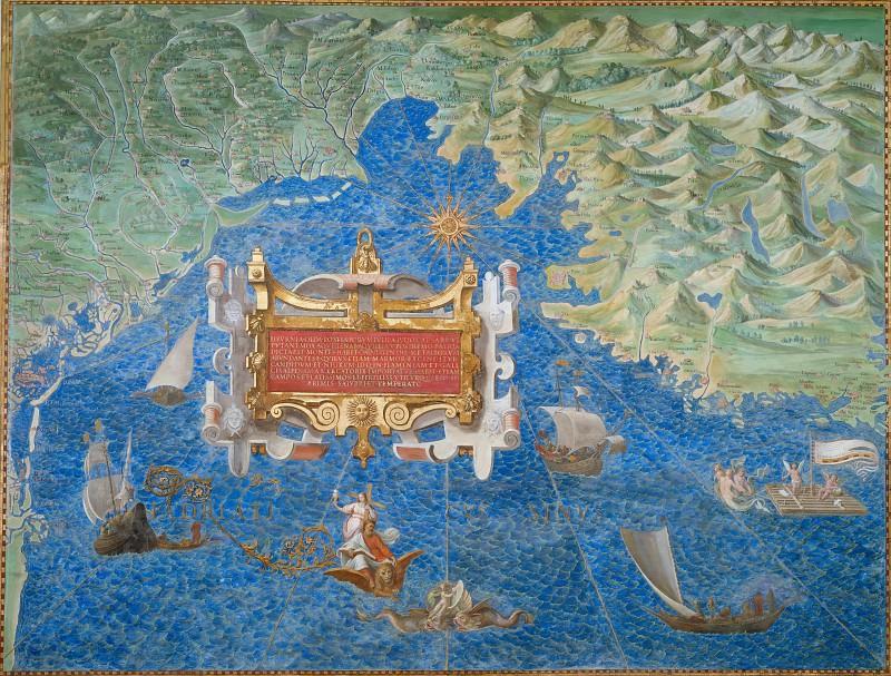 Венецианская лагуна, Фриули и Истрия. Древние карты мира в высоком разрешении - Старинные карты
