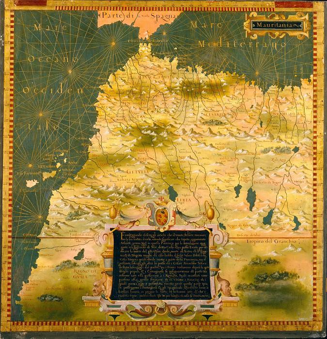 Марокко. Древние карты мира в высоком разрешении - Старинные карты