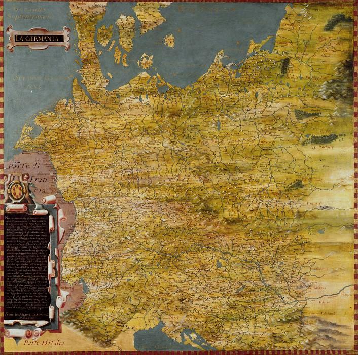 Германия. Древние карты мира в высоком разрешении - Старинные карты