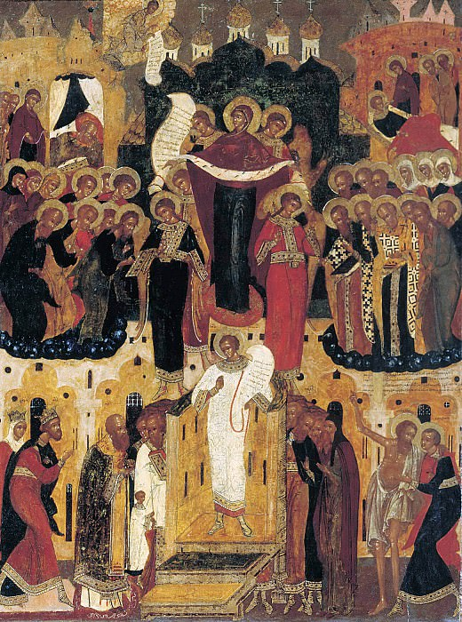 Protection of the Virgin. Orthodox Icons