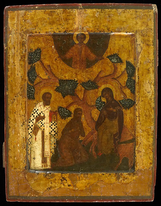 Чудо явления Богоматери. Orthodox Icons