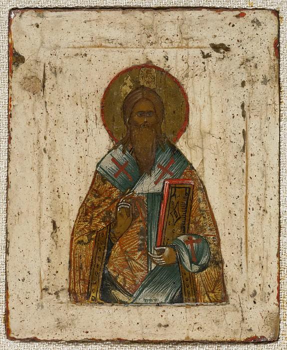 Триптих Господь Вседержитель с неизвестными святыми. Orthodox Icons