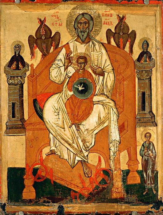 Отечество с избранными святыми. Orthodox Icons