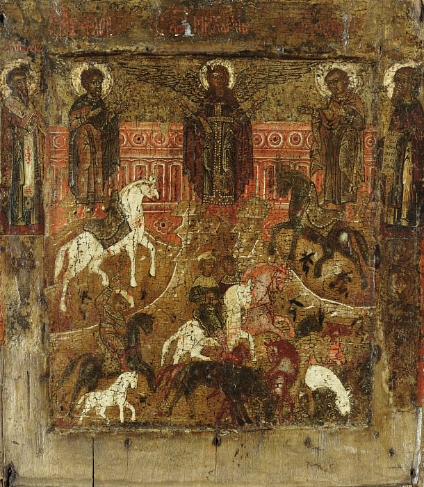 Святые Флор и Лавр. Orthodox Icons