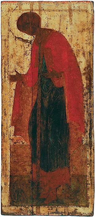 Andrei Rublev (1360-е - 1430) -- Деисусный чин Троицкого собора Троице-Сергиевой лавры. Orthodox Icons