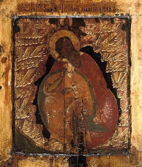 Святой пророк Илия в пустыне. Orthodox Icons