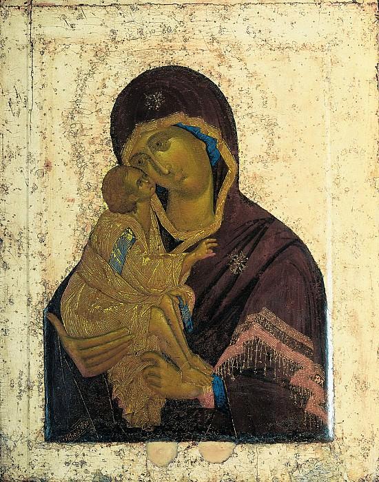 Feofan Grek (ок.1340 - ок.1410) -- Икона Божией Матери Донская. Orthodox Icons