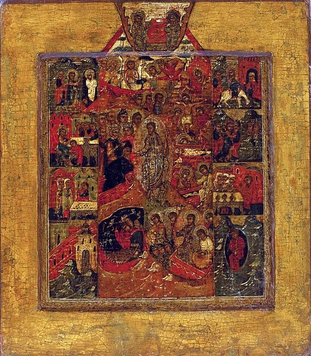 Воскресение в праздниками. Orthodox Icons