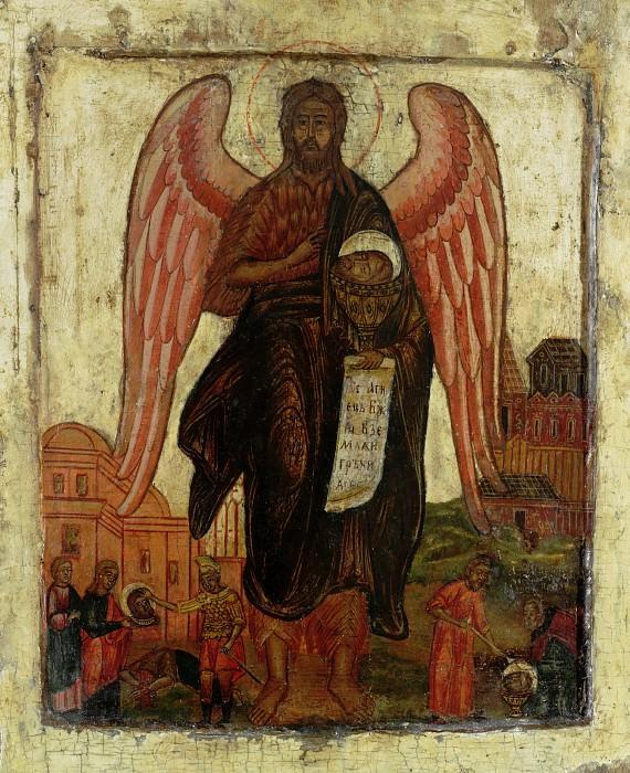 Святой Иоанн Предтеча Ангел пустыни. Orthodox Icons