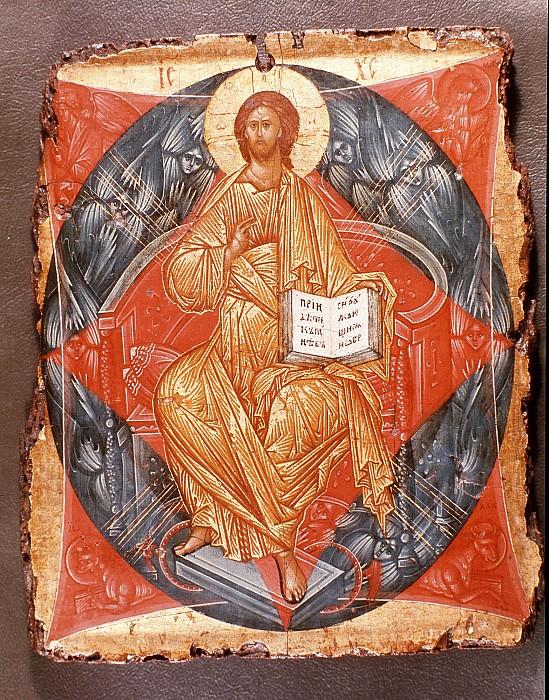 Andrei Rublev (1360-е - 1430) -- Спас в силах. Orthodox Icons