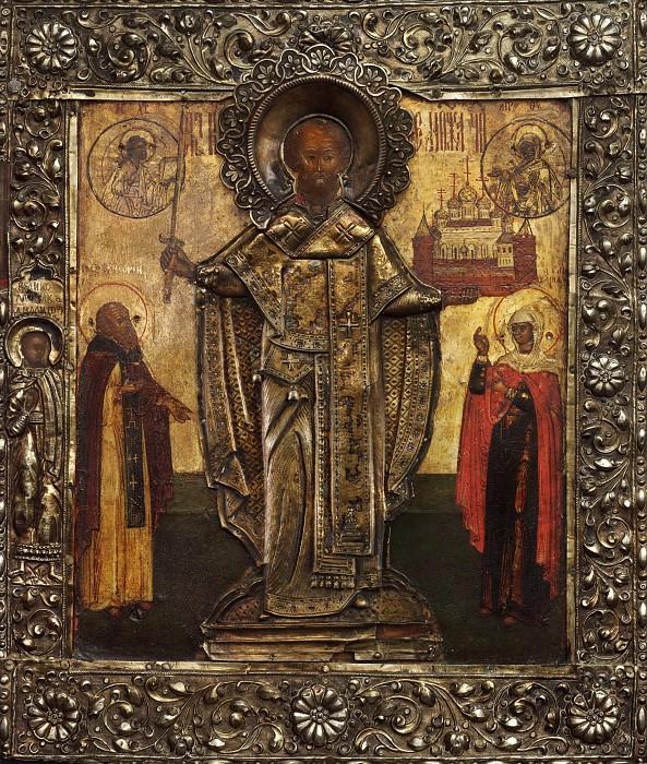 Святой Николай Можайский. Иконы