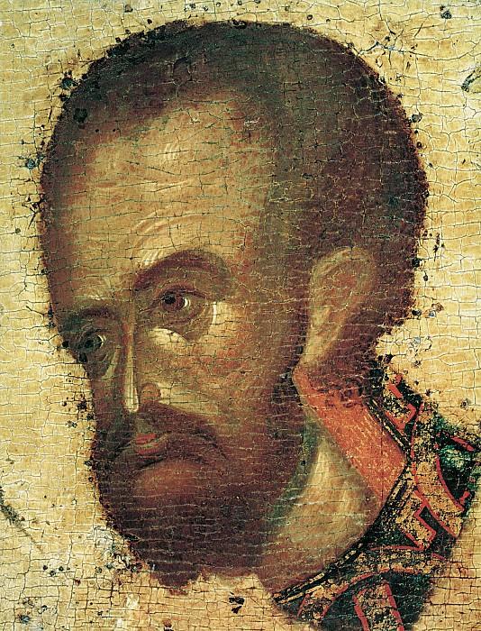 Feofan Grek (ок.1340 - ок.1410) -- Деисусный чин Благовещенского собора Московского кремля. Святой Иоанн Златоуст. Orthodox Icons
