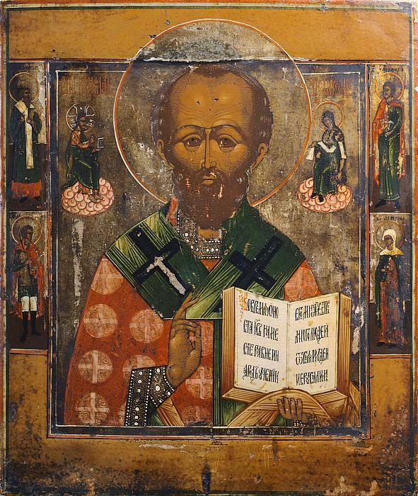 Святой Николай Чудотворец. Иконы