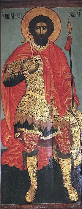 Святой Феодор Стратилат. Иконы
