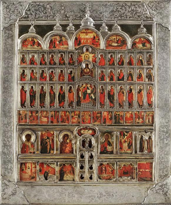 Миниатюрный иконостас. Orthodox Icons
