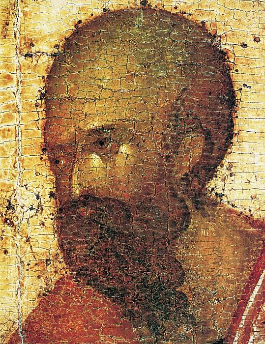 Feofan Grek (ок.1340 - ок.1410) -- Деисусный чин Благовещенского собора Московского кремля. Апостол Павел. Orthodox Icons