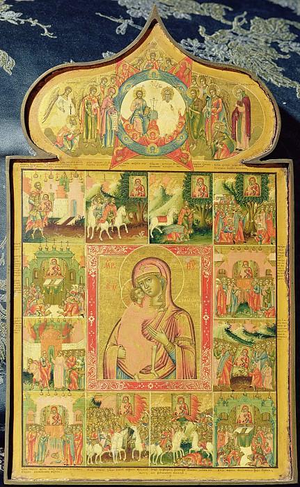 Икона Божией Матери Феодоровская с чудесами от нее. Иконы