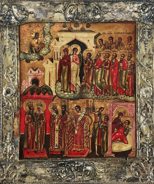 Икона Божией Матери Покров. Orthodox Icons