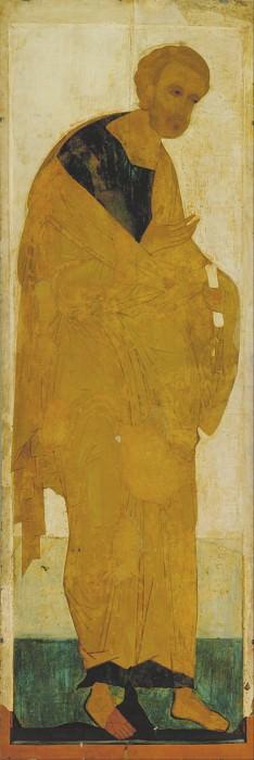 Andrei Rublev (1360-е - 1430) -- Деисусный чин 1. Апостол Пётр. Orthodox Icons
