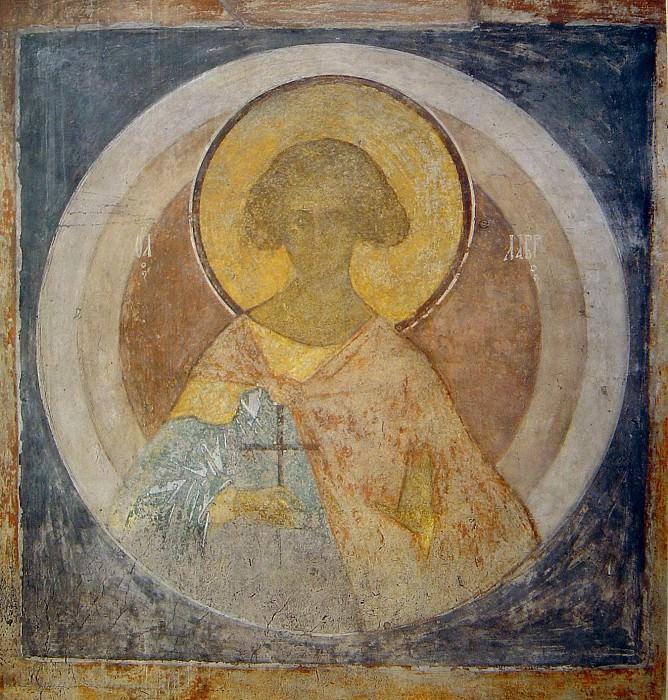 Andrei Rublev (1360-е - 1430) -- Святой Лавр. Orthodox Icons