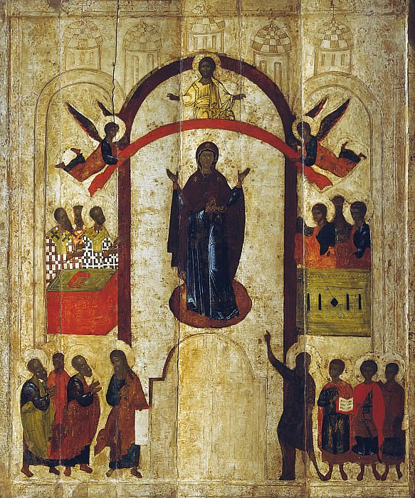 Protection of the Holy Virgin. Orthodox Icons