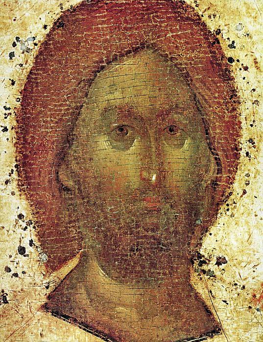 Feofan Grek (ок.1340 - ок.1410) -- Деисусный чин Благовещенского собора Московского кремля. Спас в силах. Orthodox Icons