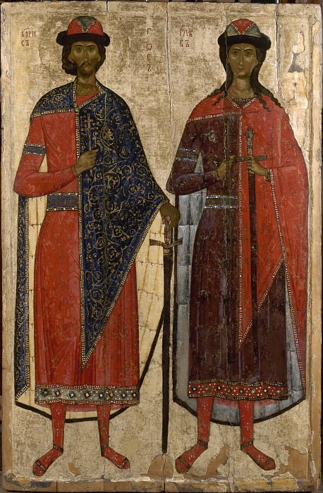 Святые Борис и Глеб. Orthodox Icons
