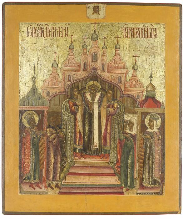 Воздвижение креста. Иконы