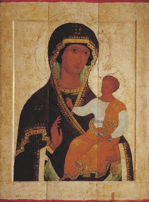 Dionysius (ок.1440-1502) -- Дионисий и мастерская. Богоматерь Одигитрия. Orthodox Icons