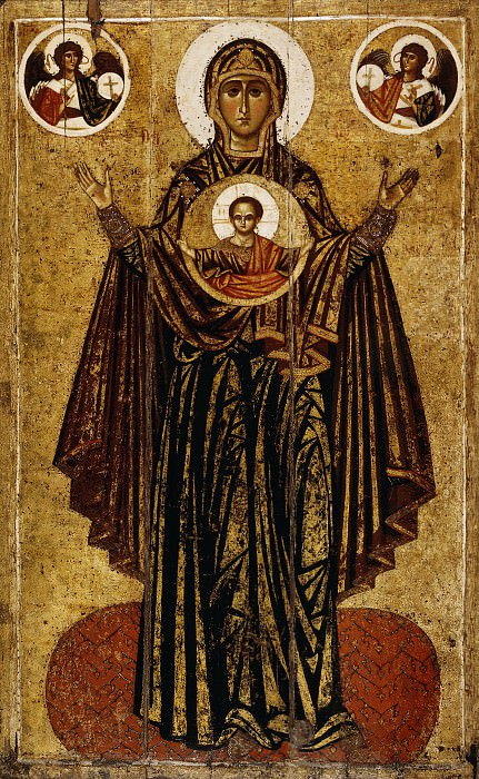 Богоматерь Великая Панагия Оранта. Orthodox Icons