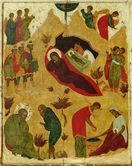 Алена Князева. Рождество Христово. Orthodox Icons