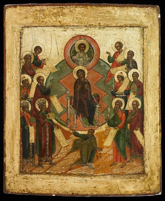 Похвала Пресвятой Богородице. Иконы