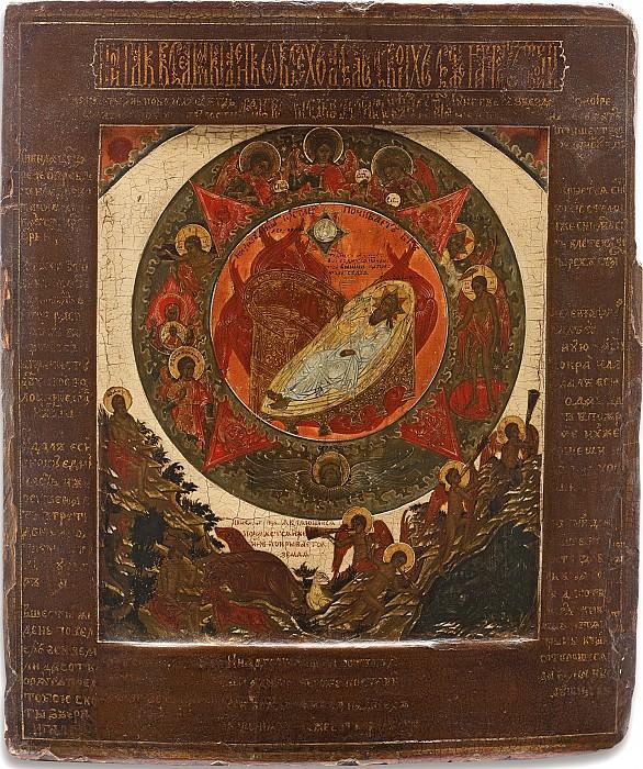 Седьмой день творения. Orthodox Icons