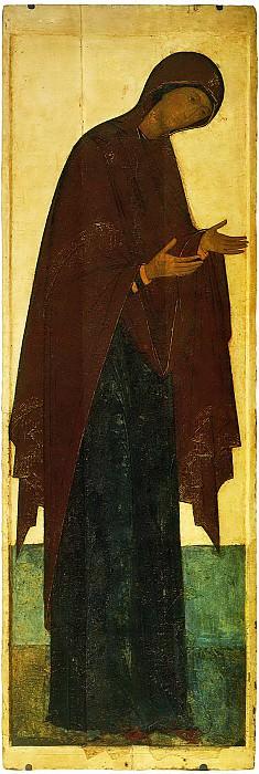 Андрей Рублёв (1360-е - 1430) -- Деисусный чин. Иконы